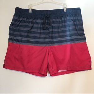 George Swimtrunks/shorts Red, white & Blue